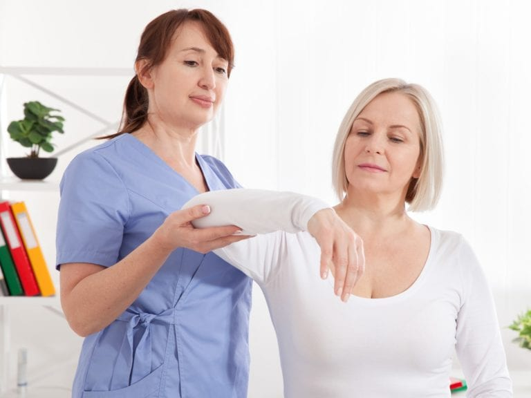 elbow pain consultation women